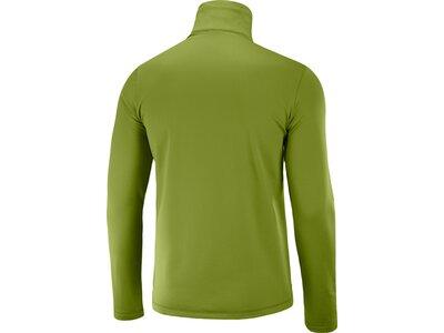 SALOMON Herren Midlayer Shirt DISCOVERY LT HZ M Grün