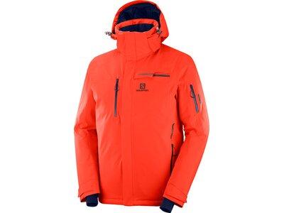 SALOMON Herren Skijacke BRILLIANT JKT M Orange