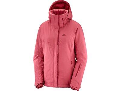 SALOMON Damen Jacke STORMPUNCH JKT W GARNET ROSE Pink