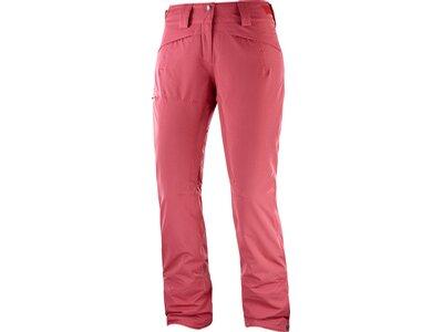 SALOMON Damen Skihose QST SNOW PANT W Pink