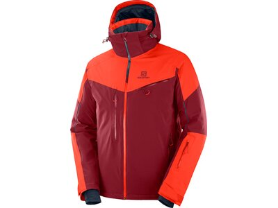 SALOMON Herren Jacke ICESPEED JKT M Biking Red Cher Rot