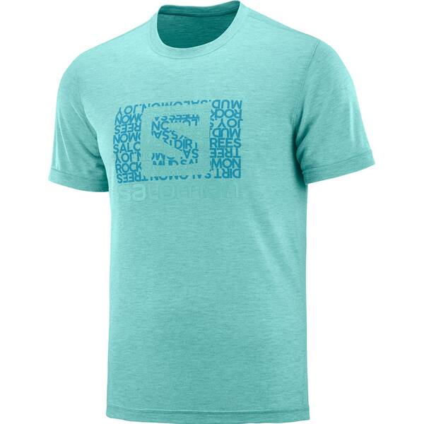 SALOMON Herren T-Shirt EXPLORE GRAPHIC SS TEE M