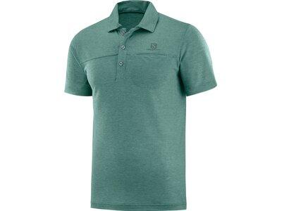 SALOMON Herren Poloshirt EXPLORE POLO M Blau