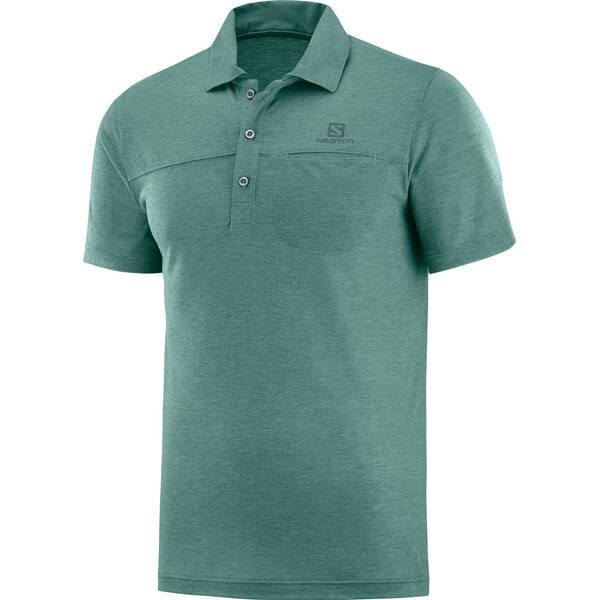 SALOMON Herren Poloshirt EXPLORE POLO M