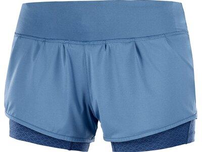 SALOMON Damen Shorts ELEVATE AERO SHORT W Blau