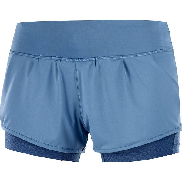 Hosen - SALOMON Damen Shorts ELEVATE AERO SHORT W › Blau  - Onlineshop Intersport