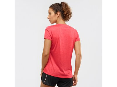 SALOMON Damen T-Shirt AGILE SS TEE W Rot