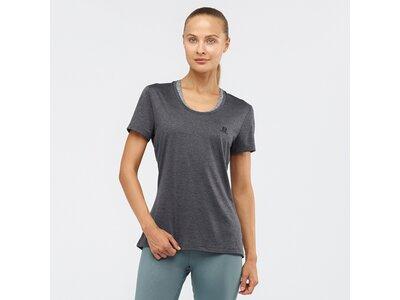 SALOMON Damen T-Shirt AGILE SS TEE W Grau