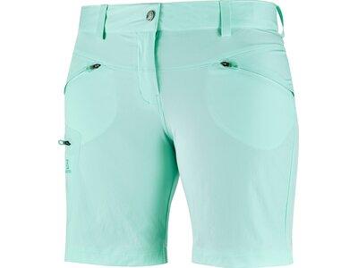 SALOMON Damen Shorts WAYFARER SHORT W Blau