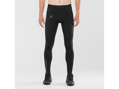 SALOMON Herren Tight EXO MOTION LONG TIGHT M Schwarz