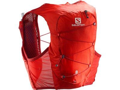 SALOMON Rucksack ACTIVE SKIN 8 SET Rot