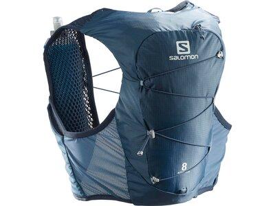 SALOMON Rucksack ACTIVE SKIN 8 SET Blau