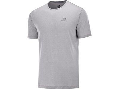 SALOMON Herren T-Shirt AGILE TRAINING TEE M Weiß