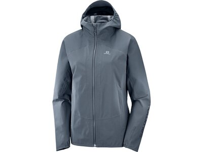 SALOMON Damen Funktionsjacke Ebony Grau