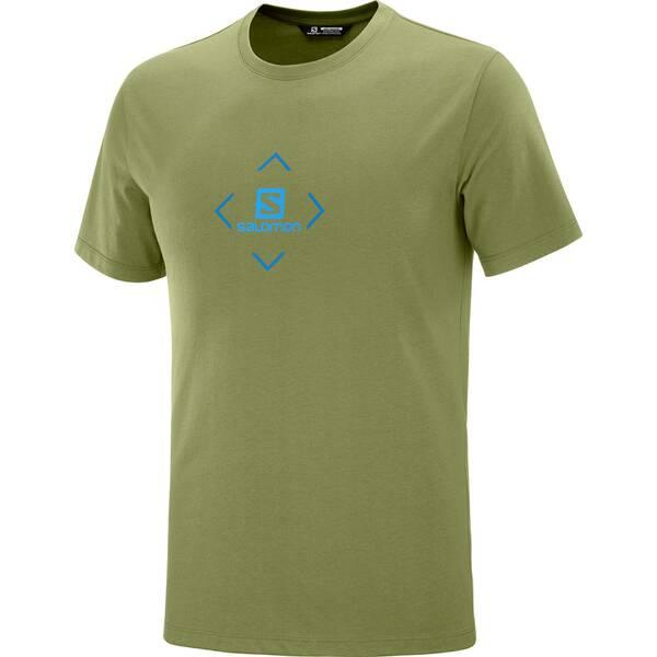 SALOMON Herren T-Shirt COTON LOGO TEE M
