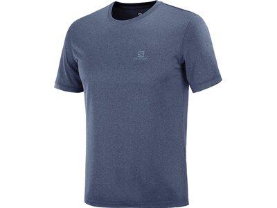 SALOMON Herren T-Shirt EXPLORE Blau