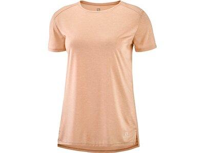 SALOMON Damen T-Shirt OUTLINE SUMMER Pink
