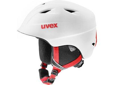 UVEX Kinder Ski- und Snowboardhelm Airwing 2 Weiß