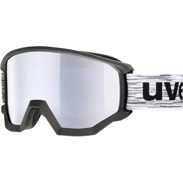 Uvex  Skibrille athletic FM black/green dl/gre-lgl