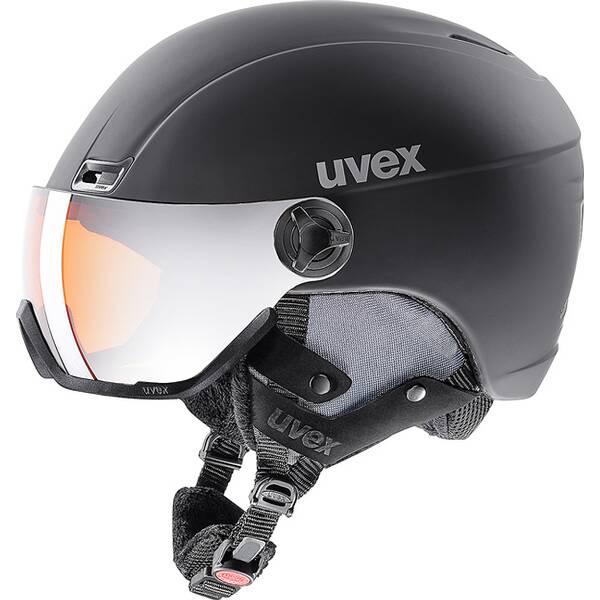 UVEX Skihelm / Visierhelm hlmt 400 Visor Style Schwarz