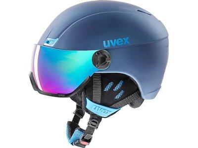 "UVEX Skihelm / Visierhelm ""hlmt 400 Visor Style"" Blau"