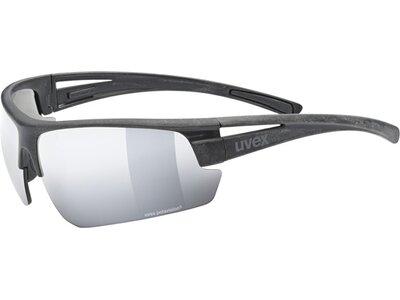 UVEX Herren Brille uvex sportstyle P Schwarz