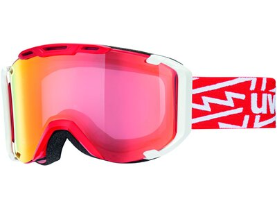 Uvex snowstrike VM Skibrille Rot