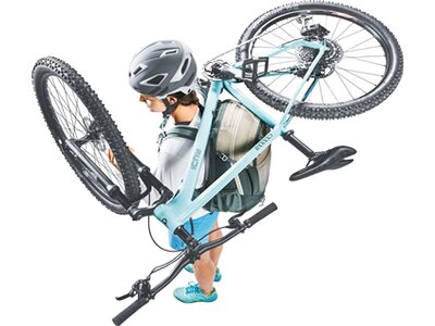 DEUTER Damen Fahrradrucksack Trans Alpine Pro 26 SL Braun
