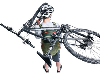 DEUTER Bike-Rucksack Trans Alpine Pro 28 Grau