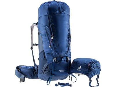 DEUTER Damen Trekkingrucksack Aircontact 40+10 SL Blau
