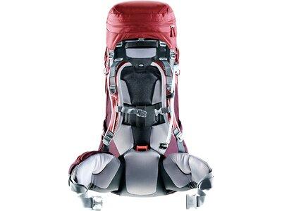 """DEUTER Damen Trekkingrucksack """"Aircontract Pro 55 + 15 SL"""" Rot"""