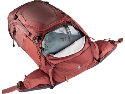DEUTER Damen Trekkingrucksack Futura Air Trek 55 + 10 SL Braun
