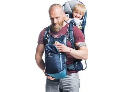 """DEUTER Rucksack mit Kindertrage """"Kid Comfort Pro"""" Blau"""
