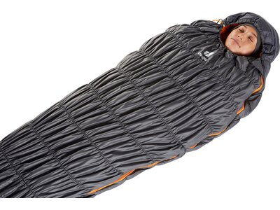 DEUTER Schlafsack Exosphere 0° SL Grau