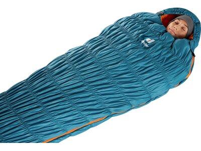 DEUTER Schlafsack Exosphere -10° SL Blau