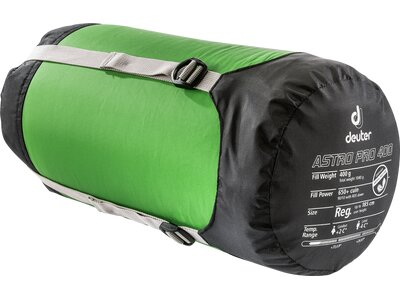"""DEUTER Daunenschlafsack """"Astro Pro 400"""" Grün"""