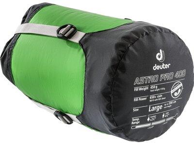 Deuter Astro Pro 400 L Schlafsack Grün