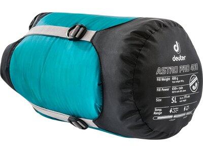 DEUTER Schlafsack Astro Pro 400 Blau
