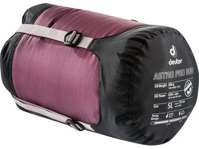 DEUTER Schlafsack Astro Pro 600 Lila
