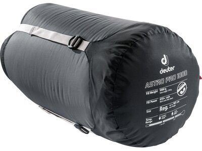 DEUTER Schlafsack Astro Pro 1000 Grau