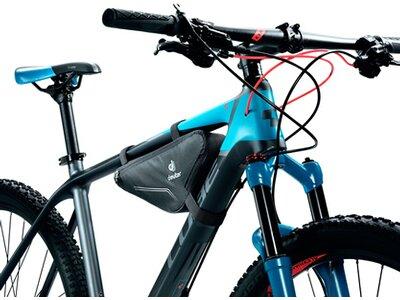 DEUTER Fahrradtasche Front Triangle Bag Schwarz