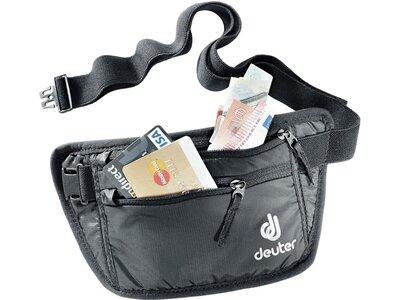 DEUTER Kleintasche Security Money Belt I Schwarz