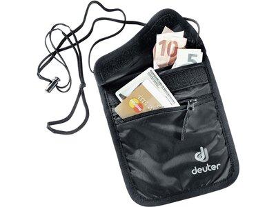 DEUTER Kleintasche Security Wallet II Schwarz