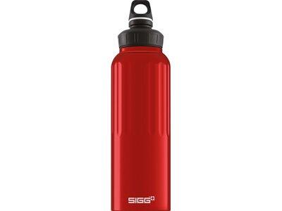 SIGG Trinkbehälter WMB TRAVELLER RED Rot
