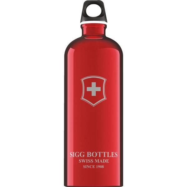 SIGG Trinkbehälter SWISS EMBLEM RED