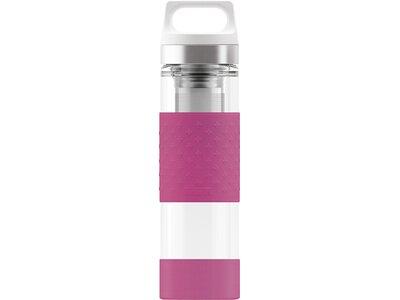 SIGG Trinkbehälter H&C Glass WMB Berry Weiß