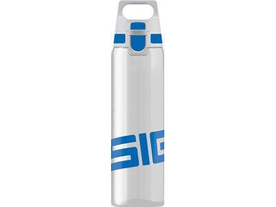 SIGG Trinkbehälter TOTAL CLEAR ONE Blue Weiß