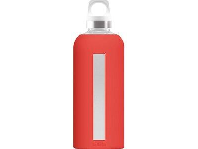 SIGG Trinkbehälter Star Scarlet Weiß