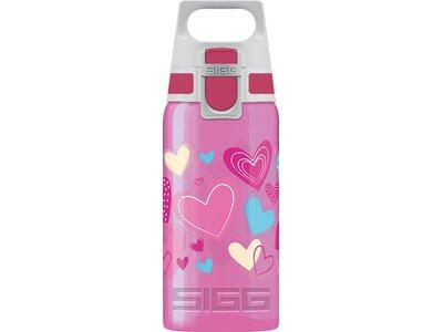 SIGG Trinkbehälter VIVA ONE Hearts Pink
