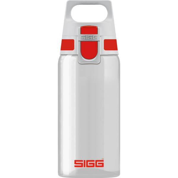SIGG Trinkbehälter TOTAL CLEAR ONE Red